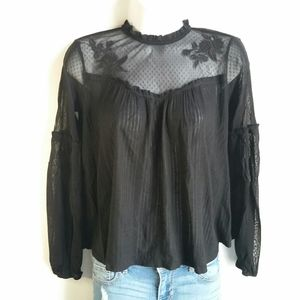 Xhilaration sheer top size S